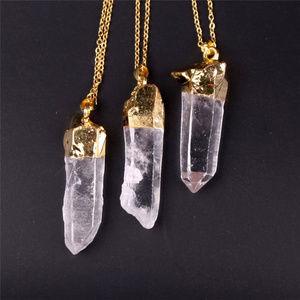 Jewelry - boho quartz crystal necklace